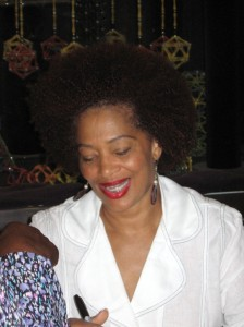 Terry McMillan Book Signing